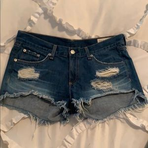 Rag & Bone Freeport shorts worn once!